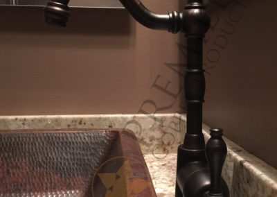 Single Handle Bar or Vessel Filler Faucet in Oil Rubbed Bronze