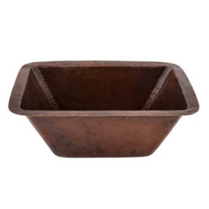 Rectangle Copper Bar Sink W/  2″ Drain Size