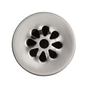 1.5″ Non-Overflow Grid Bathroom Sink Drain – Brushed Nickel