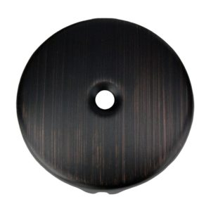 Single-Hole Overflow Cover / Face Plate in Oil Rubbed Bronze