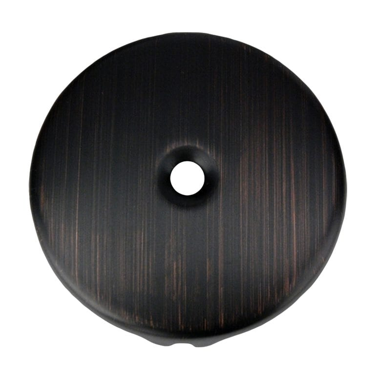 Single Hole Overflow Cover Face Plate In Oil Rubbed Bronze Premier Copper Products