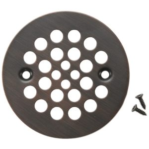 4.25″ Round Shower Drain Cover in Oil Rubbed Bronze
