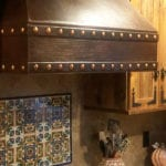 36″ Hammered Copper Wall Mounted Correa Range Hood