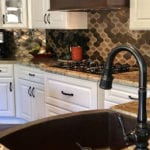 30″ Hammered Copper Kitchen Rounded Apron Single Basin Sink