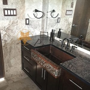 Custom Apron Front Bathroom Sink