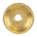 16″ Round Terra Firma Brass Prep Sink in Polished Brass w/ 3.5″ Drain Size